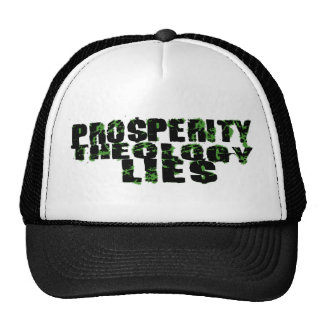 KEEP YOUR PROSPERITY THEOLOGY TRUCKER HAT