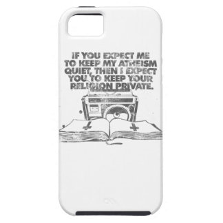 Keep Your Religion Private iPhone 5 Cover