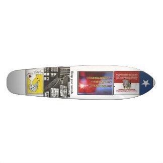 Keep your secrets skateboard