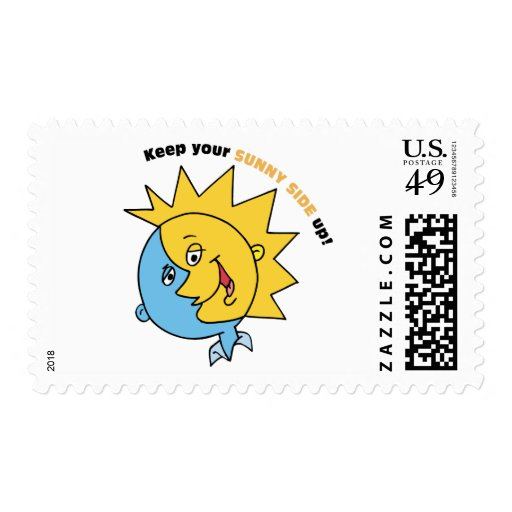 Keep Your Sunny Side Up! Postage