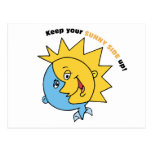 Keep Your Sunny Side Up! Postcard