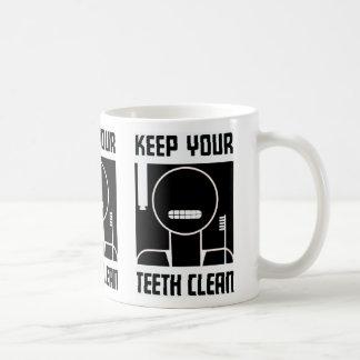 Keep Your Teeth Clean Coffee Mug