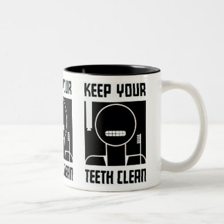 Keep Your Teeth Clean Coffee Mugs