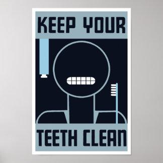 Keep Your Teeth Clean -- WPA Poster