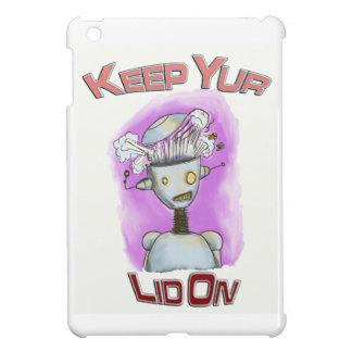 Keep Yur Lid On Robot iPad Mini Cases