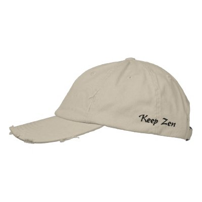 Keep Zen Embroidered Hats