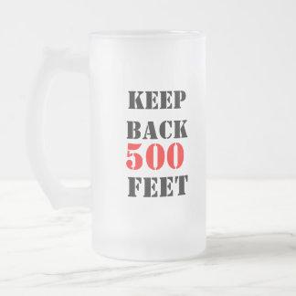 KEEPBACK, 500, FEET FIRE TRUCK MUG