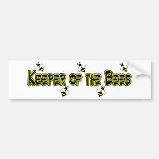 keeper bees bumper bumper sticker