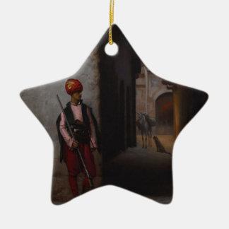 Keeper Ceramic Ornament