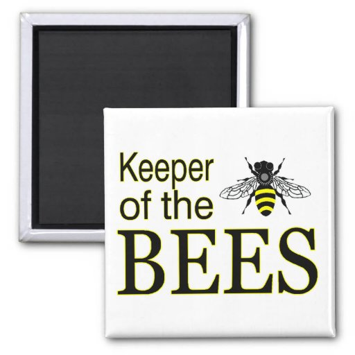 keeper of bees magnet