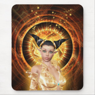 Keeper of Life Wheel Mouse Pad
