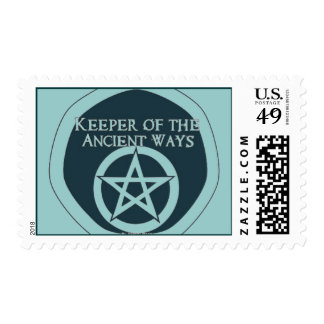Keeper of the ancient ways postage