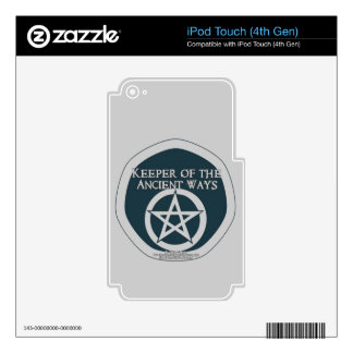 Keeper of the ancient ways iPod touch 4G skin