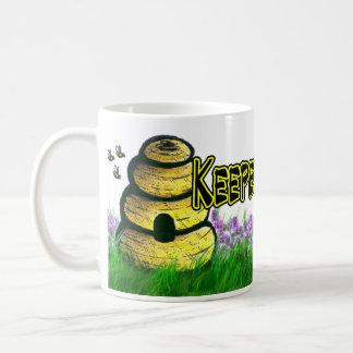 Keeper of the BEES! Classic White Coffee Mug