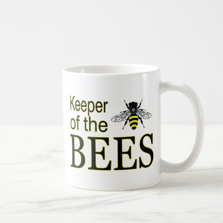 KEEPER OF THE BEES COFFEE MUG