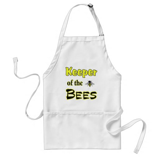 keeper of the bees dark adult apron
