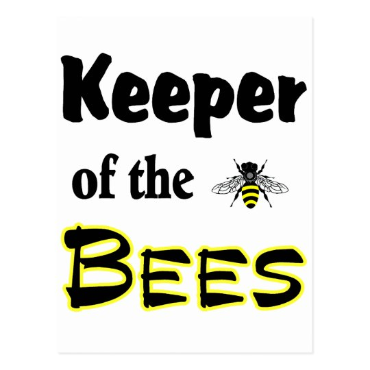 keeper of the bees postcard