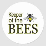KEEPER OF THE BEES STICKER
