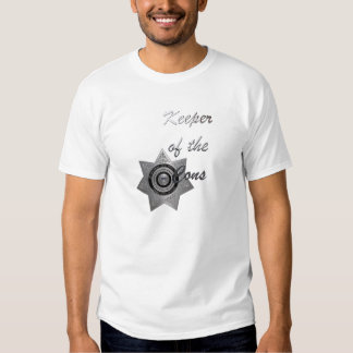 Keeper of the Cons,SILVER-C.O.Officer Mens Tee