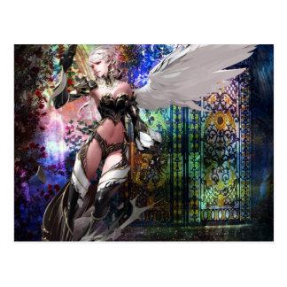 KEEPER OF THE GATE.jpg Postcard