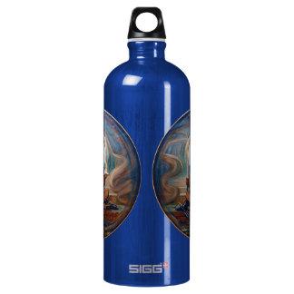 Keeper of the Threshold by Elihu Vedder Water Bottle