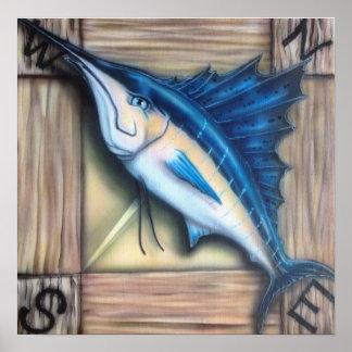Keeper Sailfish Print