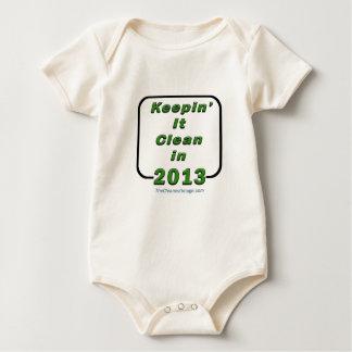Keepin' It Clean In 2013 Baby Bodysuit