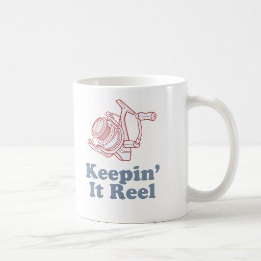 Keepin' It Reel Coffee Mug