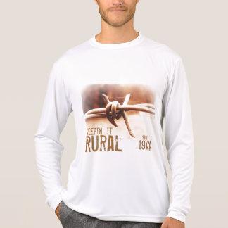 Keepin it Rural since (Custom Year) Barbwire Photo Shirt