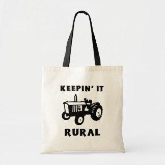Keepin' It Rural Tote Bag