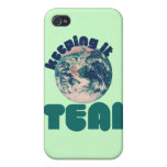 Keepin' it Teal iPhone 4/4S Cover