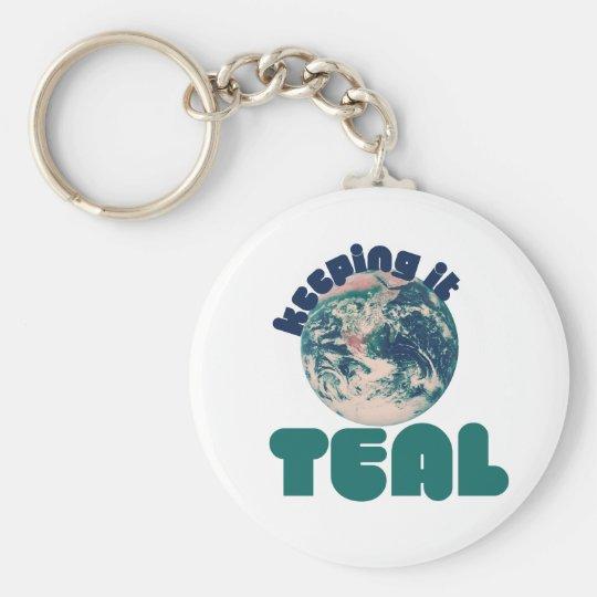 Keepin' it Teal Keychain