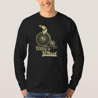 Keepin' it 'Wheel' Funny T-shirt (ivory)