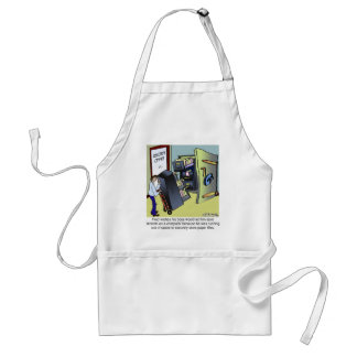 Keeping Files Safe Adult Apron