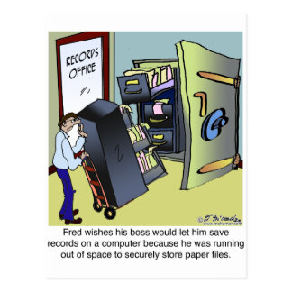 Keeping Files Safe Postcard