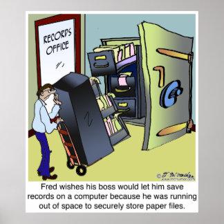 Keeping Files Safe Poster