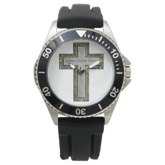 Keeping in time with Jesus. Wrist Watch