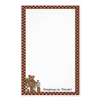 Keeping In Touch Stationery (Bear)
