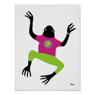 Keeping It Froggy Man Poster