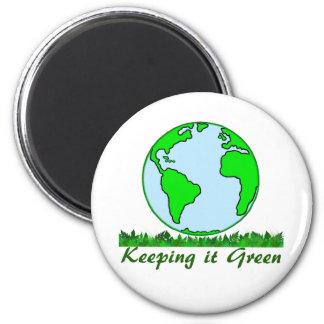 Keeping It Green Magnet