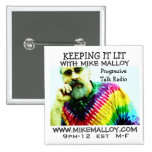 KEEPING IT LIT TRUTHSEEKER 2 INCH SQUARE BUTTON