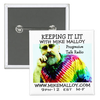 KEEPING IT LIT TRUTHSEEKER PINBACK BUTTON