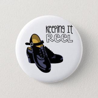 Keeping it Reel Pinback Button