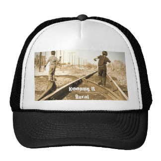 Keeping It Rural and Baby Tracks Products Trucker Hat