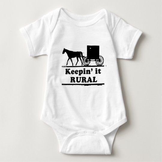 KEEPING IT RURAL BABY BODYSUIT