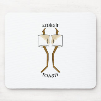 Keeping It Toasty Mouse Pad