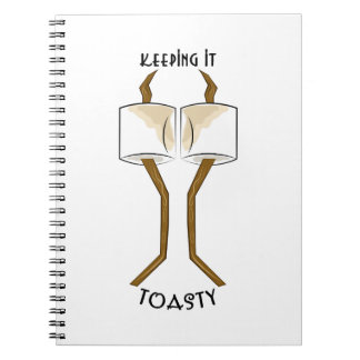 Keeping It Toasty Note Book