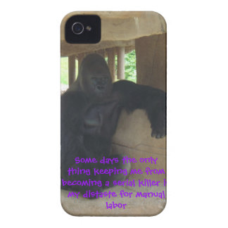 Keeping me from becoming a serial killer iPhone 4 Case-Mate case