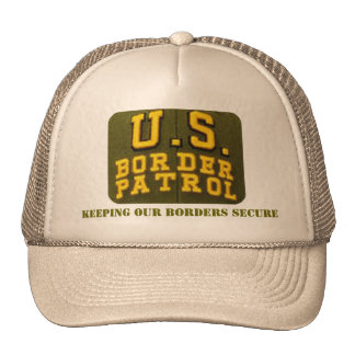Keeping Our Borders Secure Trucker Hat