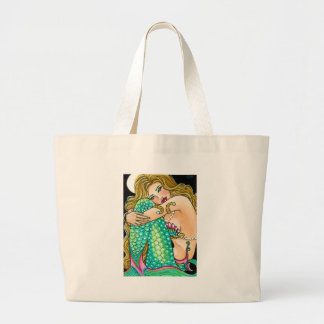 Keeping Secrets Large Tote Bag